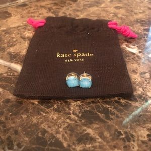 Kate Spade Turquoise Blue Stud Earrings.